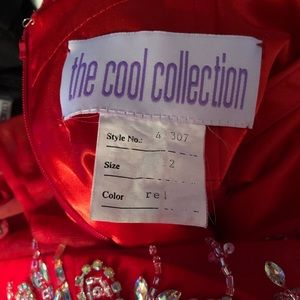 The Cool Collection Dresses - Red Prom Dress-The Cool Collection-Size 12